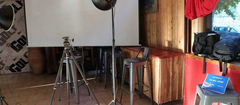Atelier photo pour Tapas'1 Job